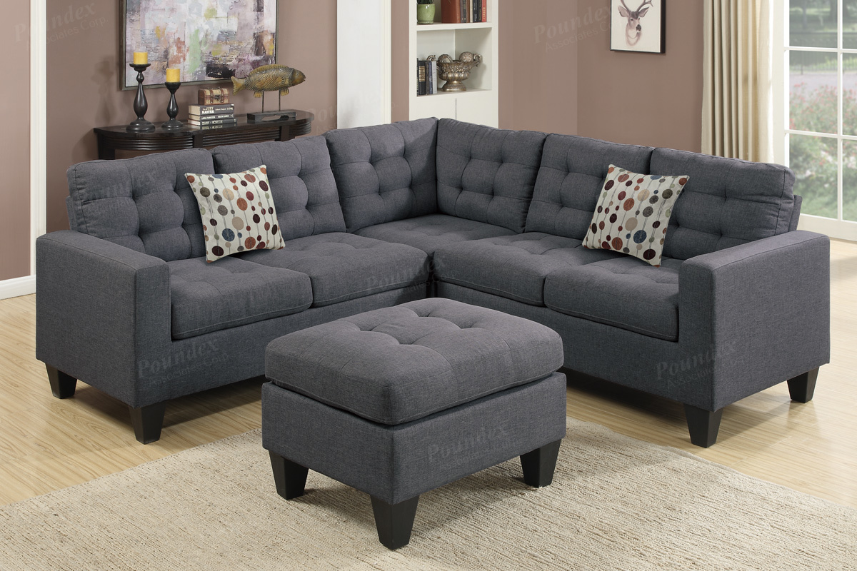 4-pcs Sectional F6934-5-6